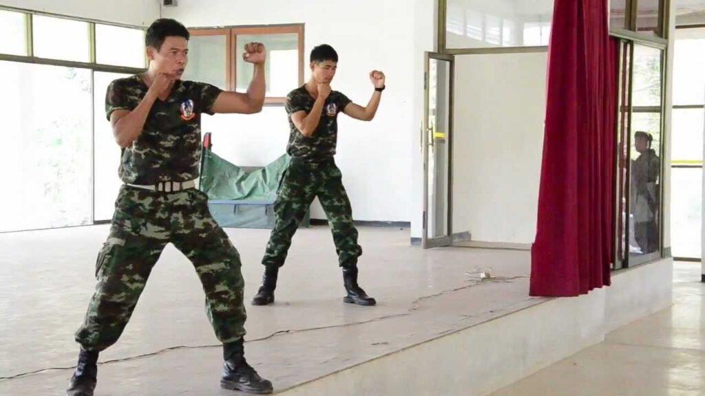 Muay Thaï et entrainement militaire